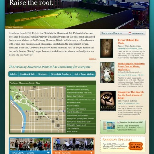 Parkway Museums District Home Page