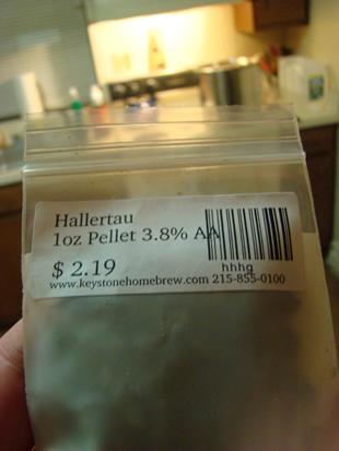 Hallertau Hops Front