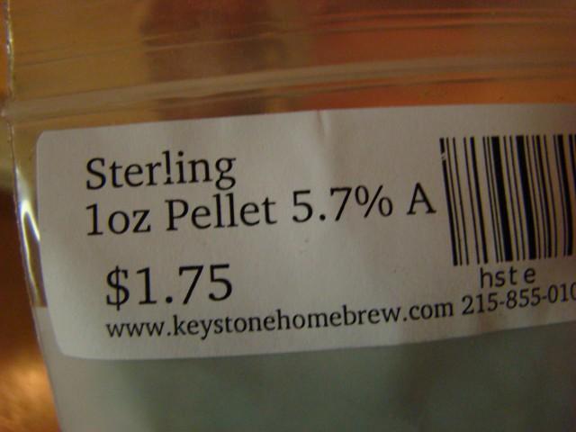 Sterling hops